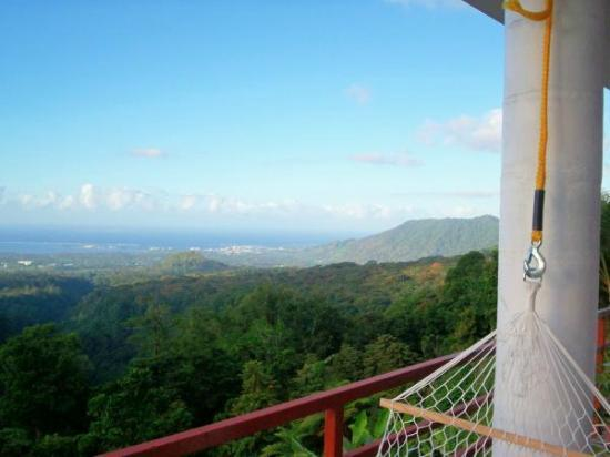 Dave Parker Eco Lodge: View of Apia