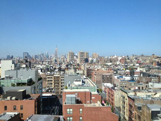 Sheraton Tribeca New York Hotel: East View from 17 th floor