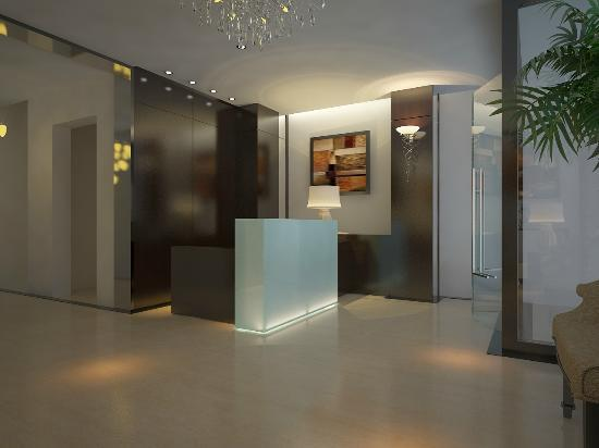 Hanoi Legacy Hotel - Bat Su: Reception desk