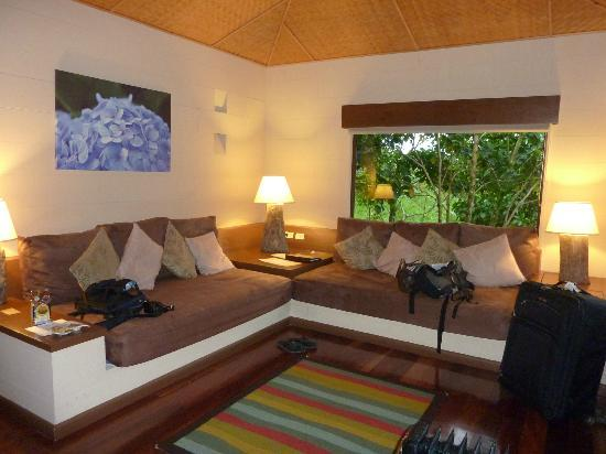 El Silencio Lodge & Spa: sitting area or sleeping for 2