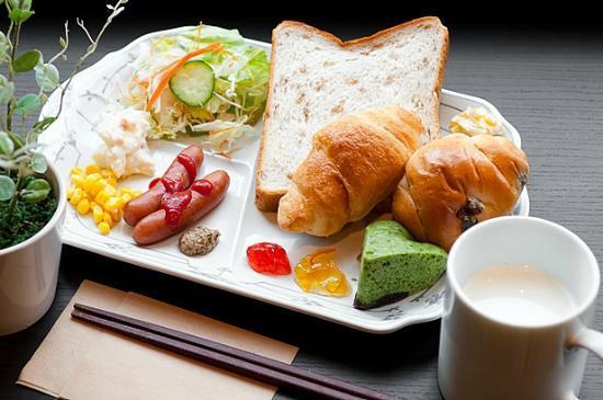 Super Hotel Matsumotoekimae : 健康朝食例