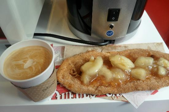 Beaver Tails : Along with a Latte..