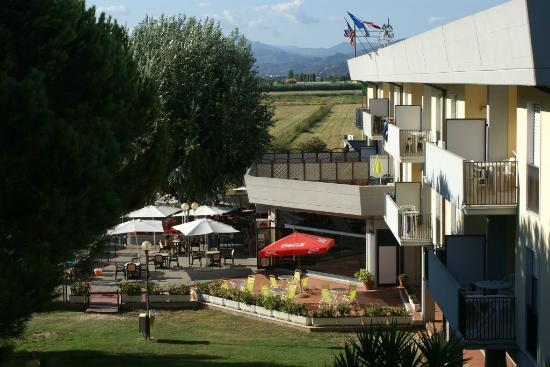 Residenza Alberghiera Italia : Widok z okna