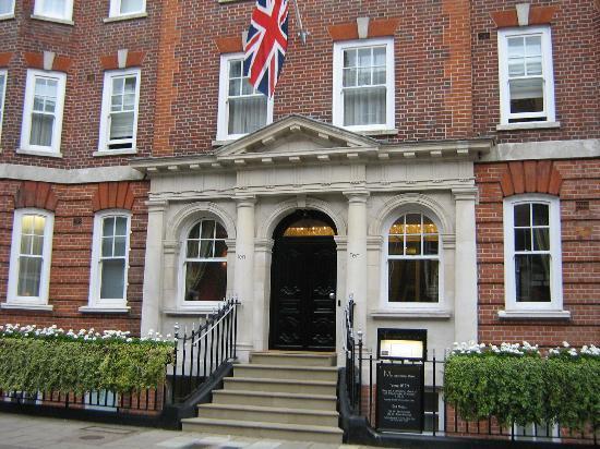 No Ten Manchester Street: Die Hoteleingangstür des No. Ten Manchester Street Hotels