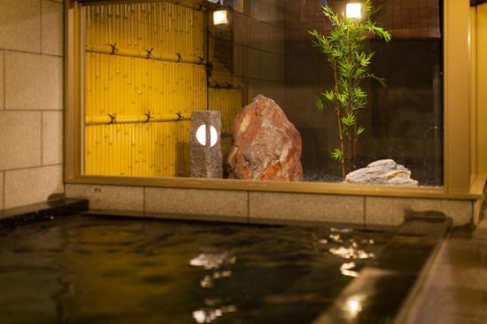 Super Hotel Anjo Ekimae: 天然温泉