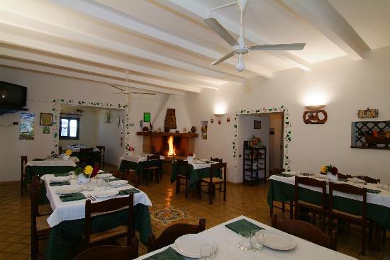 Il Portico: Sala ristoro
