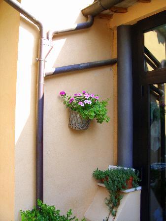 La Barberie: A fragment of La Barberi's restaurant