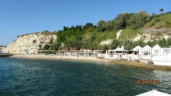 Grand Hotel Ontur: beach area
