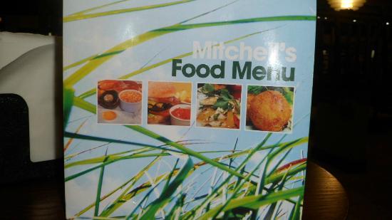 Mitchell's Kitchen and Bar: Menu