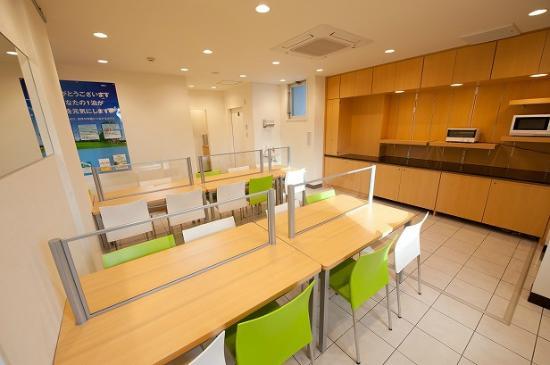 Super Hotel Yokkaichi Kokudo Ichigou-zoi : 朝食コーナー