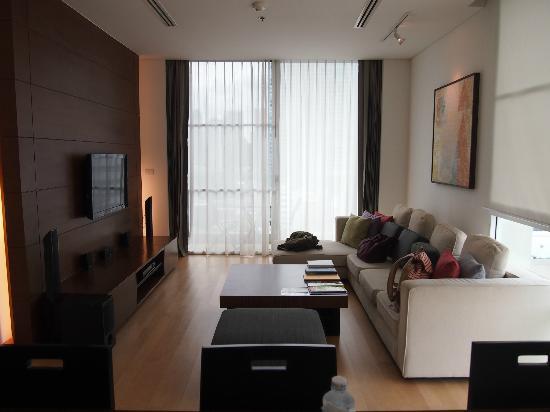 Shama Sukhumvit Bangkok: living room