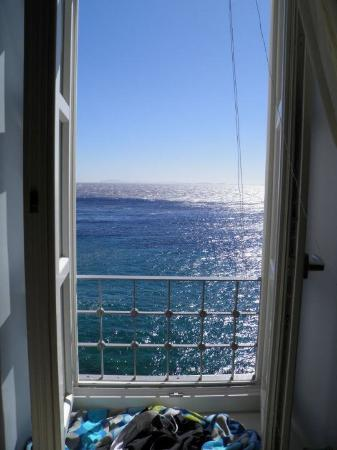 Apollonion Palace: The view from the honeymoon suite