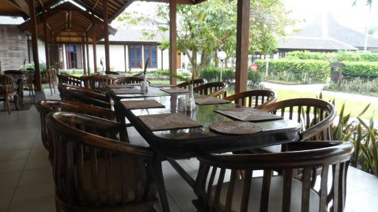 Rungan Sari Meeting Center & Resort: Restaurant