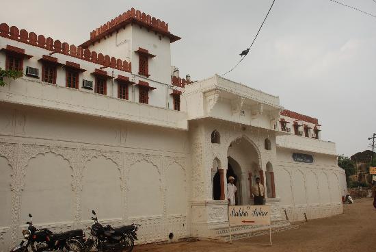Hotel Pushkar Palace: Entarance