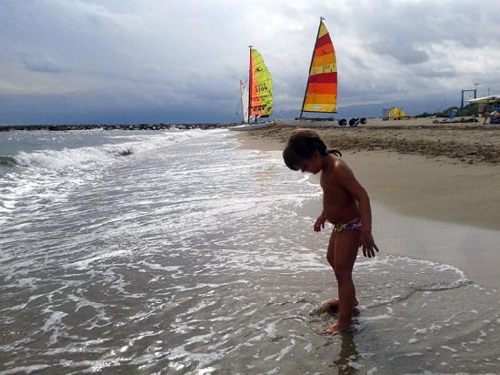 Campsite Platja Cambrils: Playa proxima