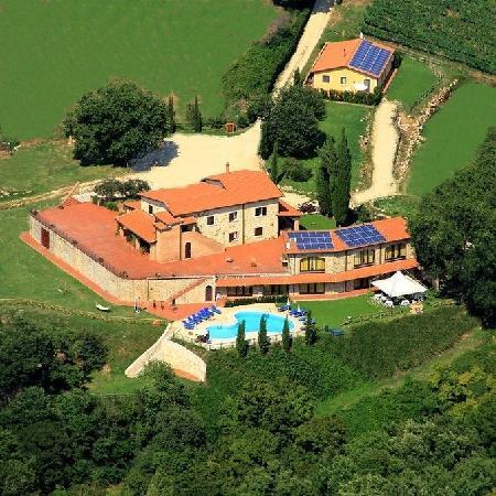 Agriturismo Podere Santa Croce : Foto dall'alto