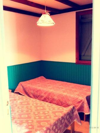 Les Pavillons du Belvedere : camera 2 letti singoli
