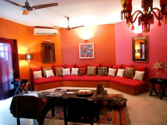 Amarya Villa: Common Living Room