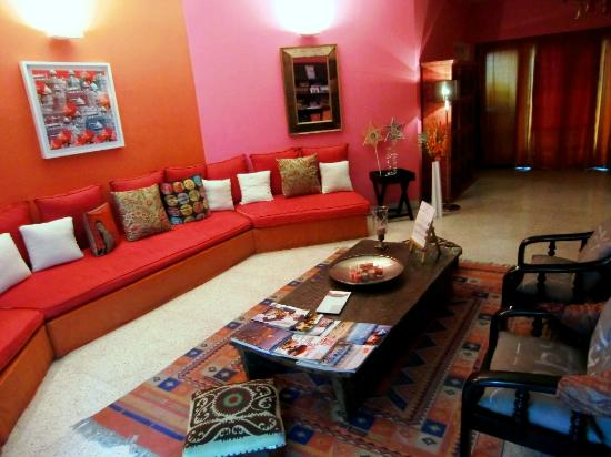Amarya Villa: Common Living Room - my favorite space!