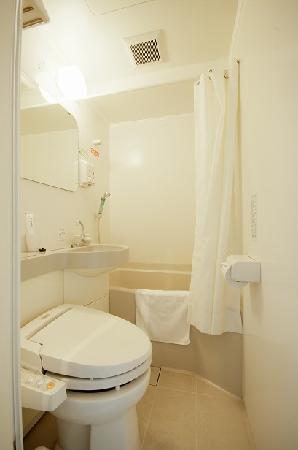 Super Hotel JR Ueno Iriyaguchi: バスルーム