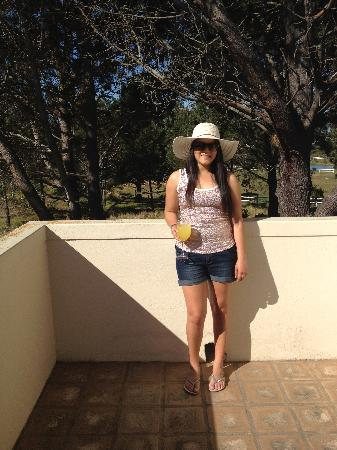 Hotel Plettenberg Bay: Me on the balcony of our suite