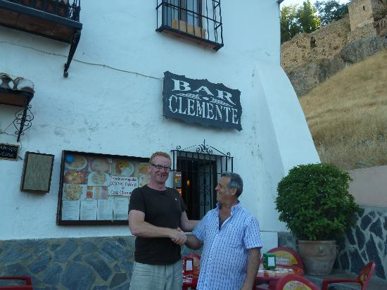 Bar Casa Clemente: me and the Don