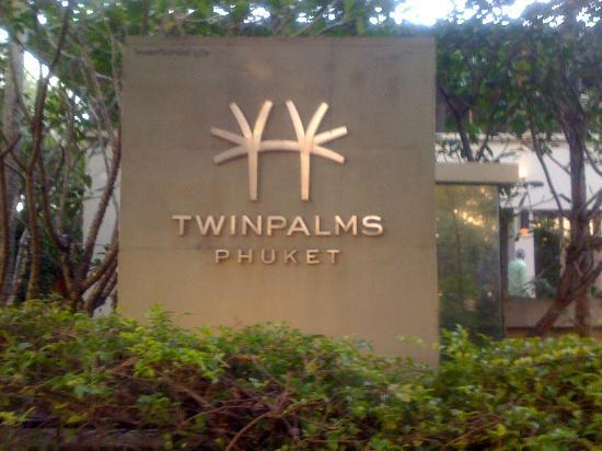 Twinpalms Phuket: Entree