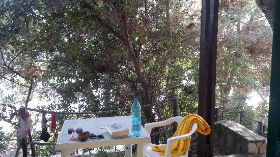 Hotel Club Torre Capovento: Veranda