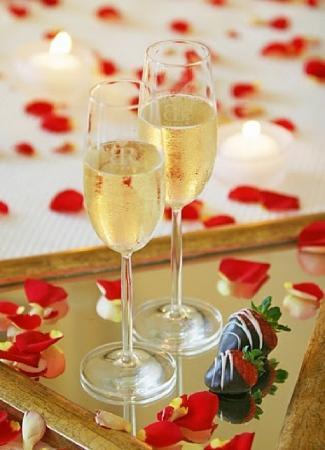 Gran Hotel Atlantis Bahia Real : Honeymoon