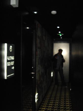 Platine Hotel: Hallways....