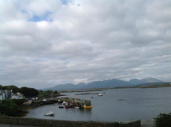 O'Dowds of Roundstone: view from the front of the restaurant
