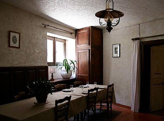 Le Logis Gourmet : La salle à manger