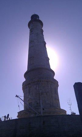 Phare de Cordouan : eclipse