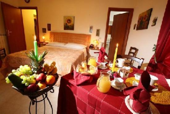 Bed Breakfast and Cappuccino - Kosher B&B Roma: Stanza suite matrimoniale/family room