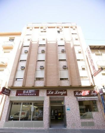 Hostal La Lonja: Fachada