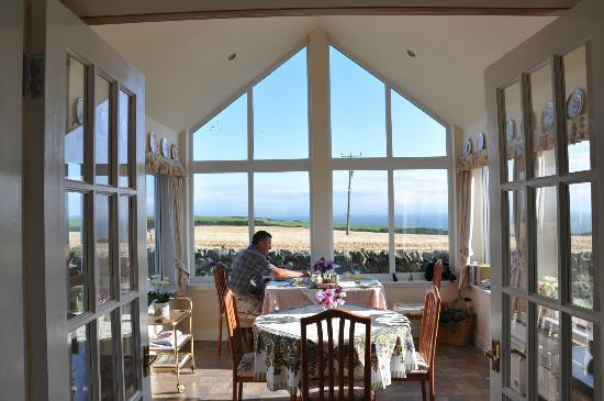 Damnaglaur, UK: Breakfast room