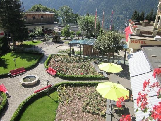 Hotel Victoria-Lauberhorn: Hotelgarten
