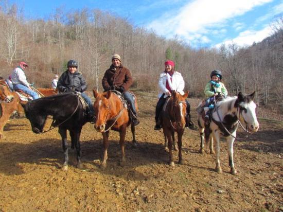 Dutch Creek Trails: my family