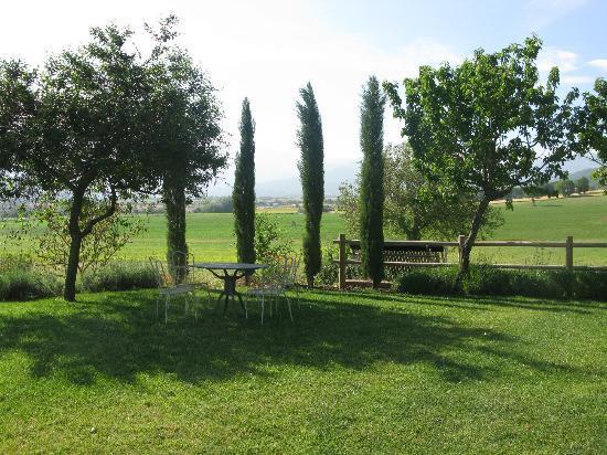 La Cascina di Opaco: il giardino