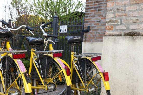Locanda Del Re Sole: Biciclette