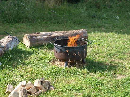 Thornham Bay - Wild Luxury: Fire pit