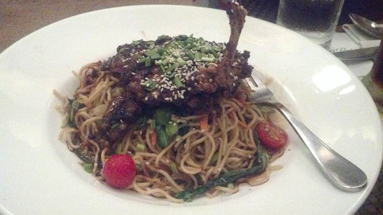 Bistro By The Park : Chicken Teriyaki something or other