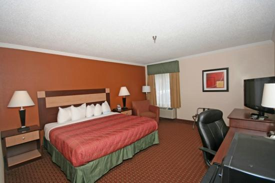 Days Inn Biltmore East: King bed room