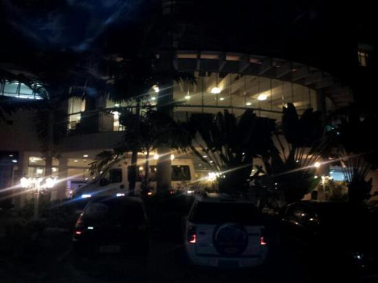 Fazzenda Park Hotel: acceso al lobby