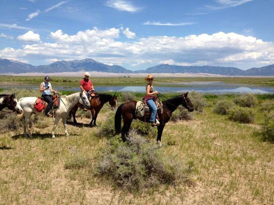 Zapata Ranch - A Nature Conservancy Preserve: Amazing rides