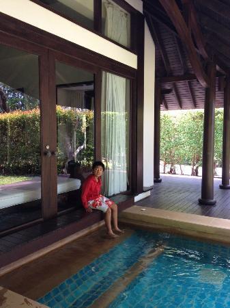 Phulay Bay, A Ritz-Carlton Reserve: なんちゃってプール?がついてました