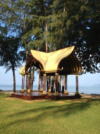 Phulay Bay, A Ritz-Carlton Reserve: ハングオーバー2の撮影でつかった櫓