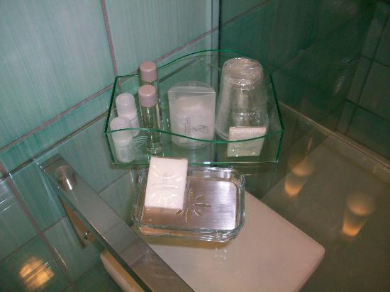 Ganimede Hotel: accessori per il bagno