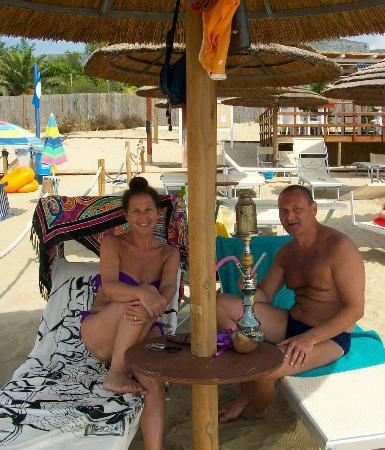 Ganimede Hotel: beach Ganimede