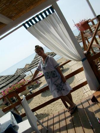 Ganimede Hotel: beach